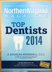 Northern Virginia Magazine Top Dentist 2014