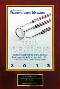 Washingtonian Magazine Top Dentist 2013