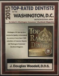Washington Consumer Checkbook Top Dentist 2015