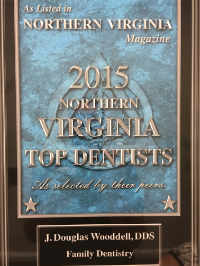 Northern VA Magazine Top Dentist 2015 Dr. Douglas Wooddell Dental Office in Annandale VA